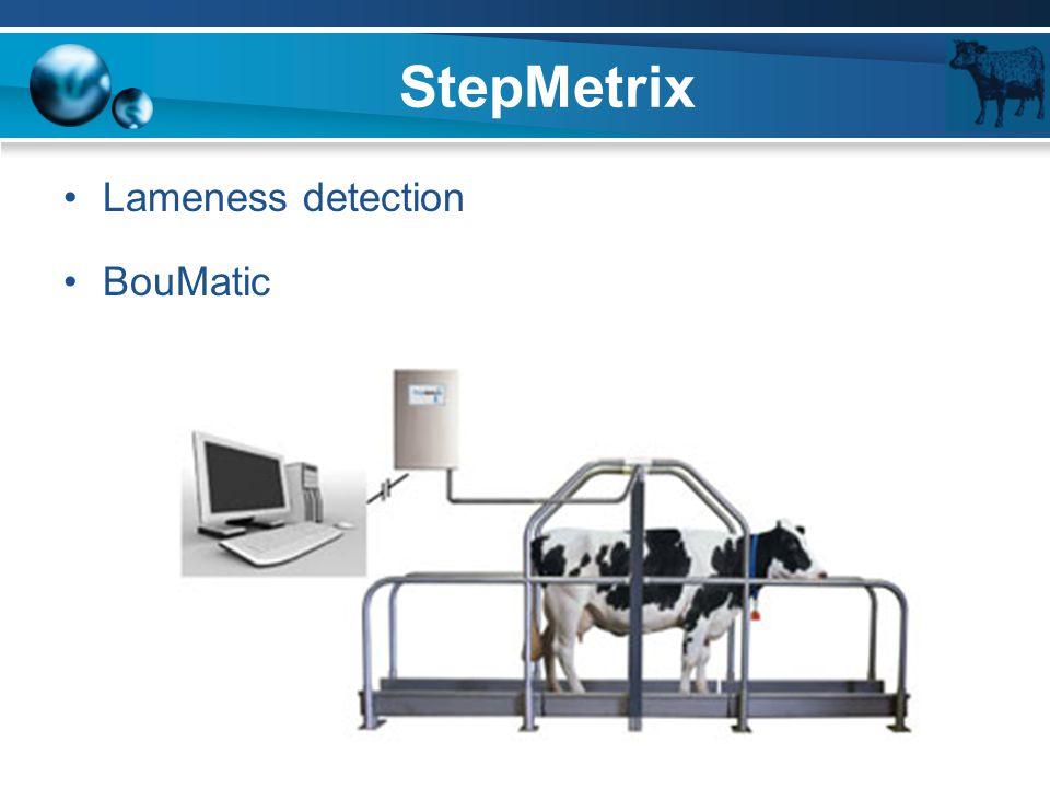 StepMetrix Lameness detection BouMatic