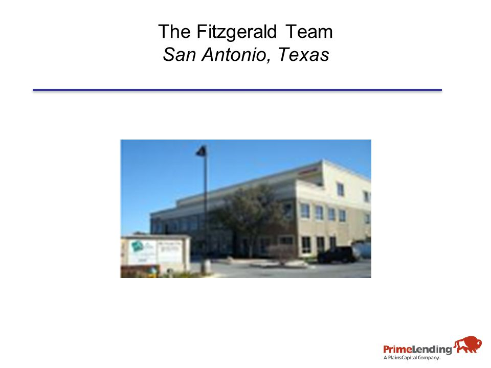 The Fitzgerald Team San Antonio, Texas