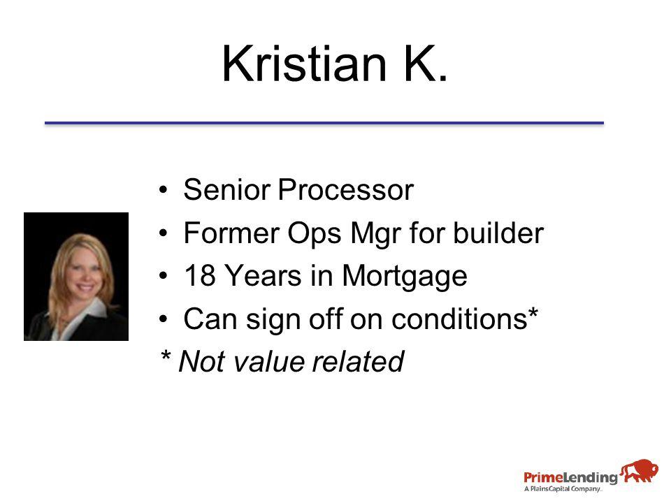 Kristian K.