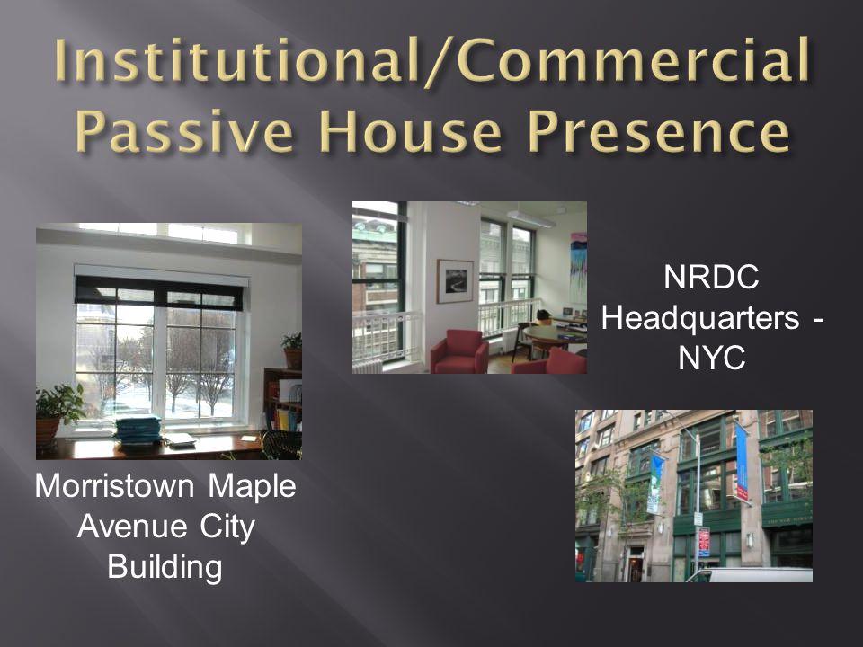 NRDC Headquarters - NYC Morristown Maple Avenue City Building
