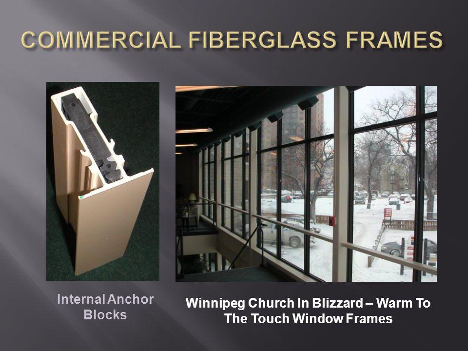 Winnipeg Church In Blizzard – Warm To The Touch Window Frames Internal Anchor Blocks