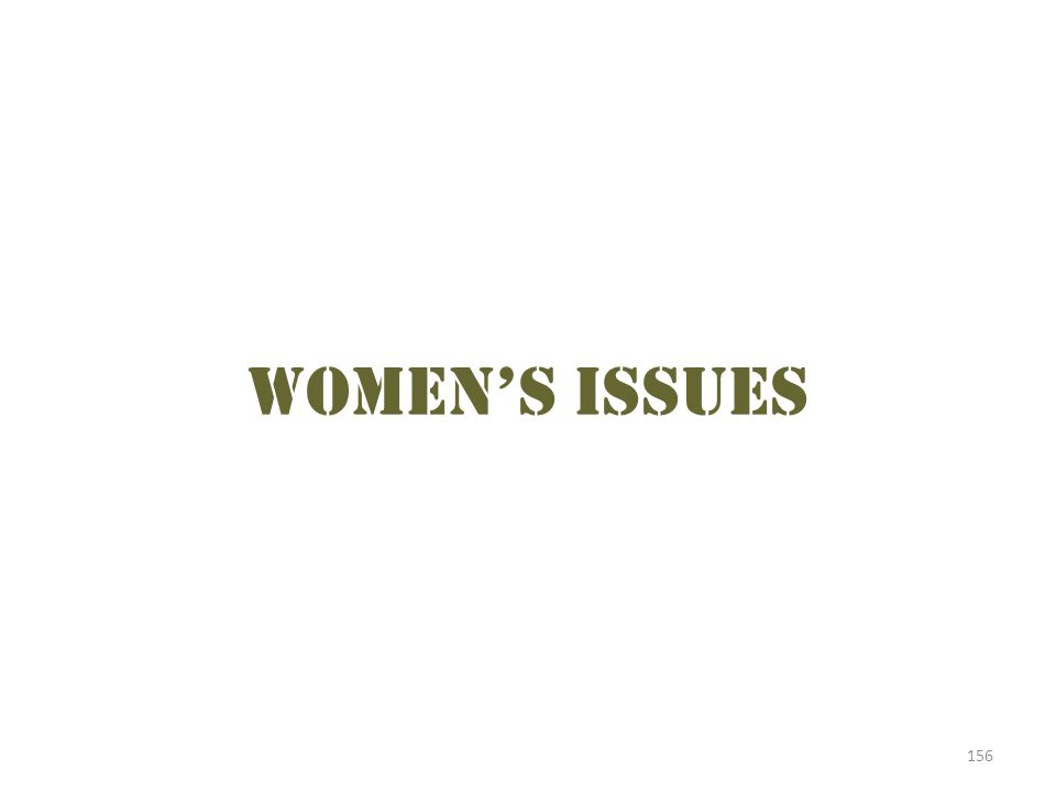 156 Women's issues