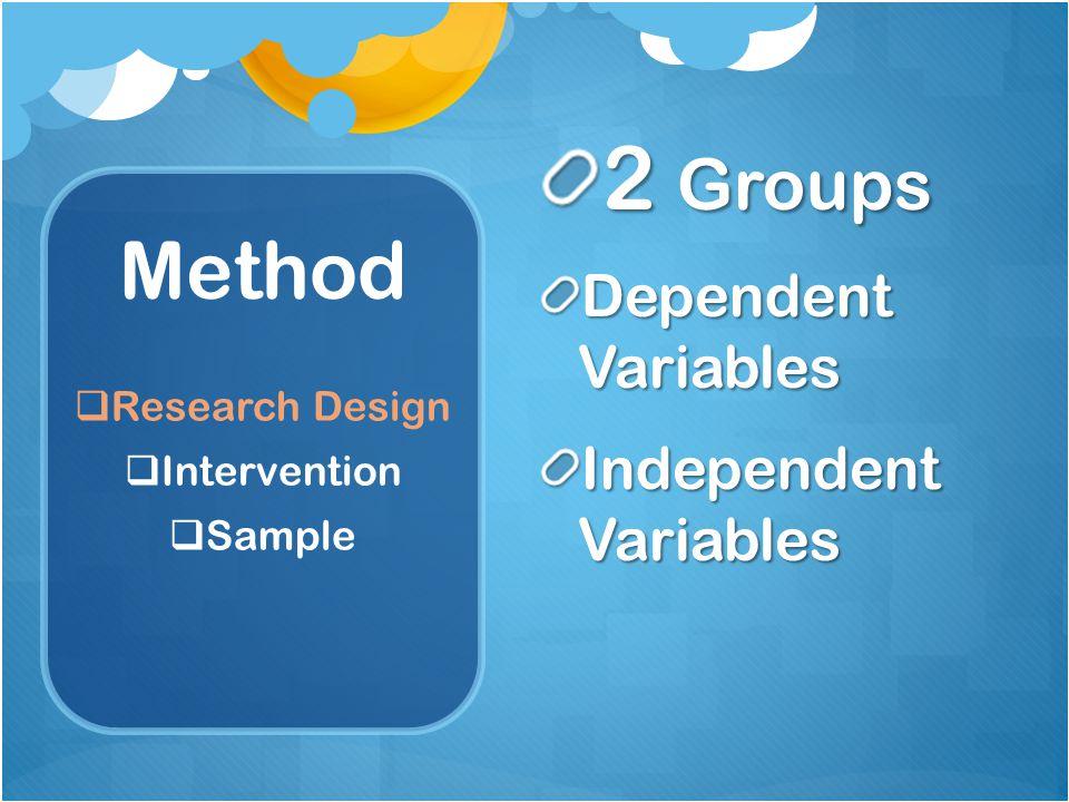 Method  Research Design  Intervention  Sample Let's get started with ROCKET MATH !