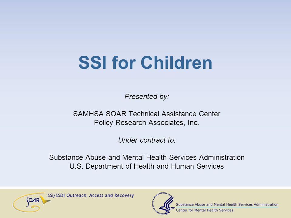 Welcome! Deborah Dennis National SOAR Project Director Policy Research Associates, Inc. Delmar, NY