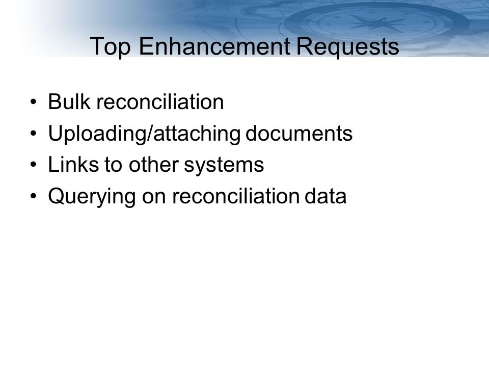 Navigating Finances at the UW MyFD Online Reconciliation 5 Coming February 2011: View reconciliation status for month Filter transactions Links to eInvoices in eProcurement