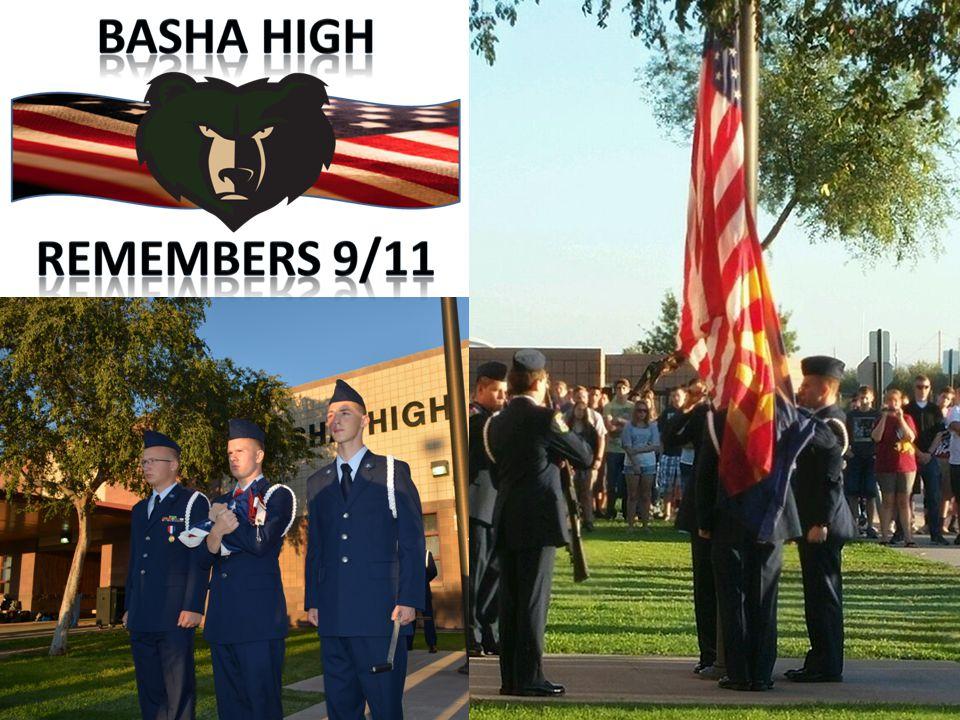 Basha H.S. AFJROTC 1 st Annual 9/11 Remembrance Run