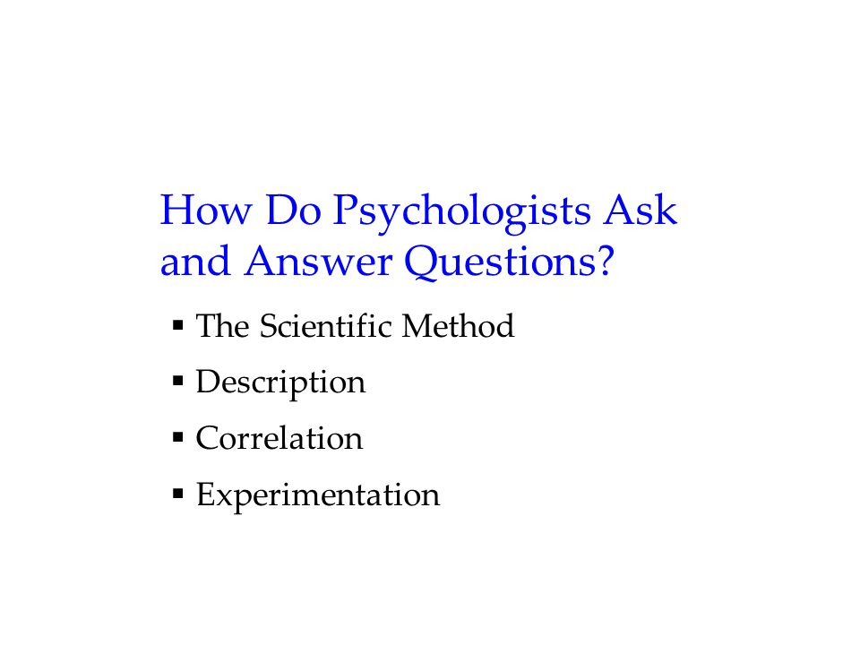 FAQ Q5.Is psychology free of value judgments. Ans: No.