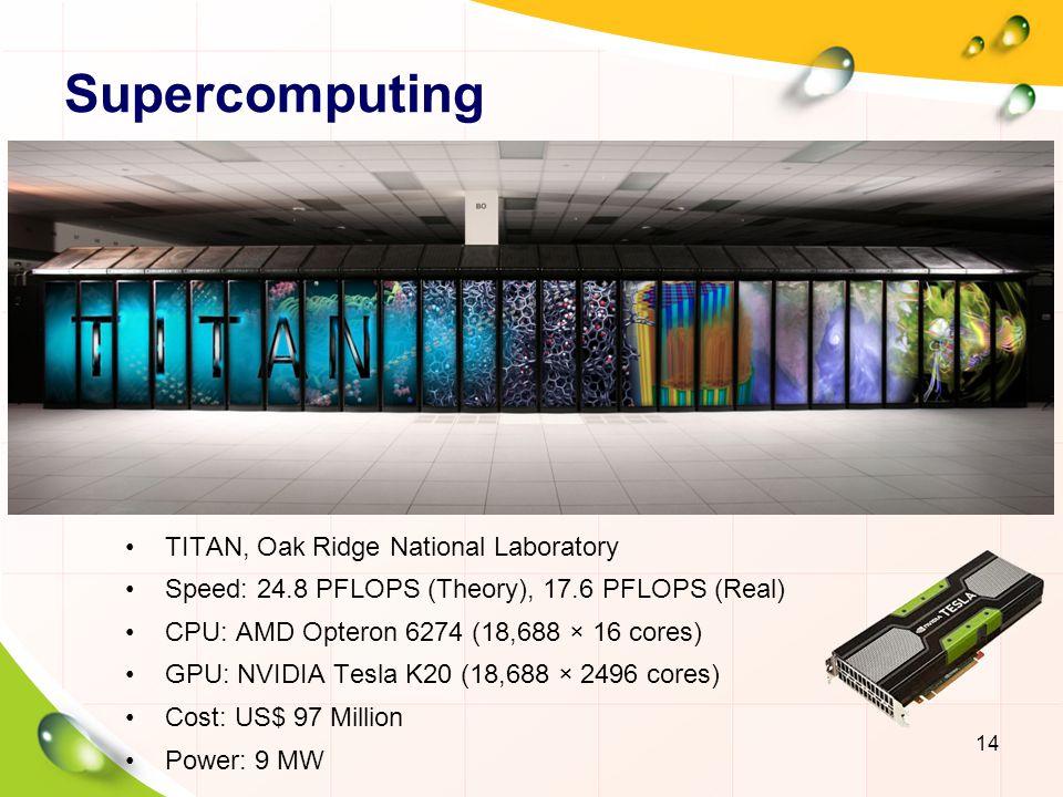 Personal Supercomputer 15