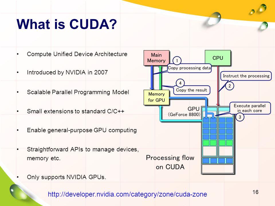 CUDA-Enabled GPU 17