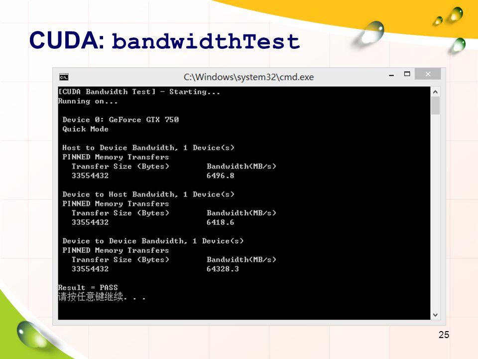 CUDA Applications 26