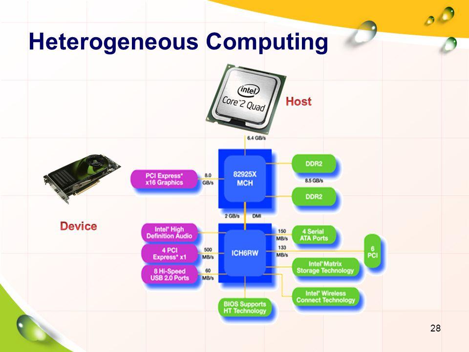 Heterogeneous Computing 29