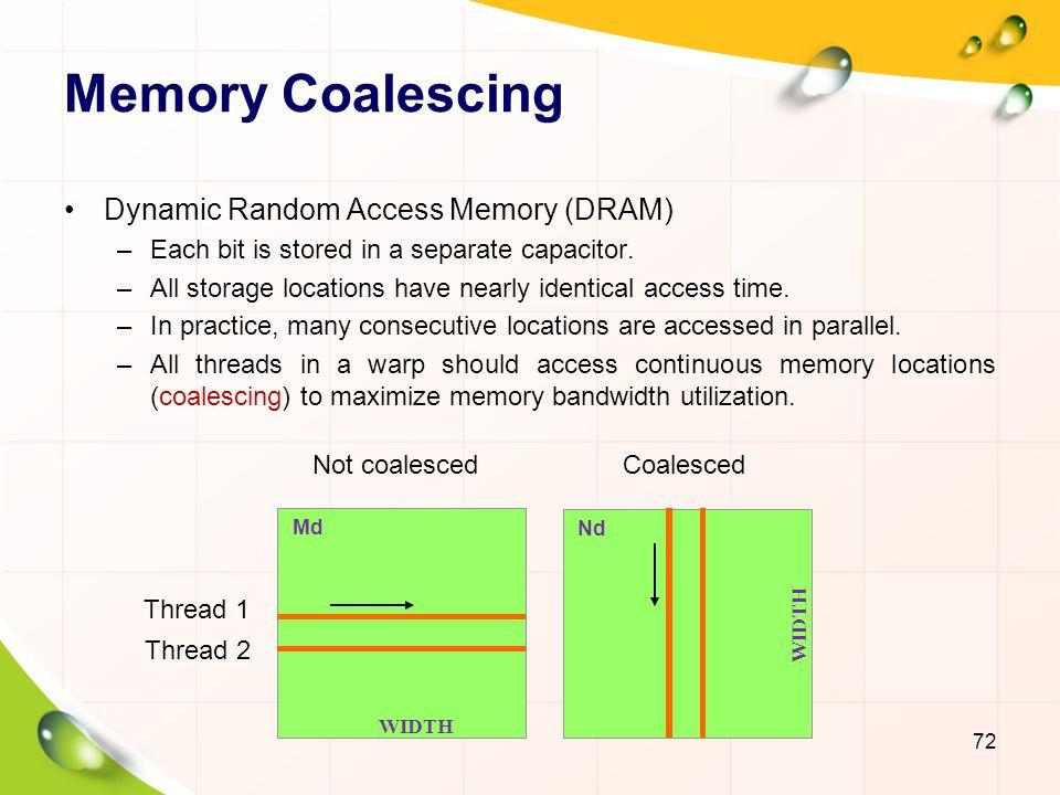 Memory Layout of a Matrix in C 73 M 2,0 M 1,1 M 1,0 M 0,0 M 0,1 M 3,0 M 2,1 M 3,1 M 2,0 M 1,0 M 0,0 M 3,0 M 1,1 M 0,1 M 2,1 M 3,1 M 1,2 M 0,2 M 2,2 M 3,2 M 1,2 M 0,2 M 2,2 M 3,2 M 1,3 M 0,3 M 2,3 M 3,3 M 1,3 M 0,3 M 2,3 M 3,3 M T0T0 T1T1 T2T2 T3T3 Time Period 1 T0T0 T1T1 T2T2 T3T3 Time Period 2 Time