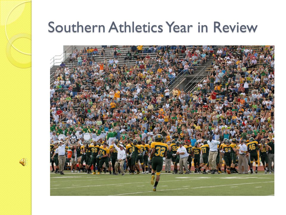 Southern Athletics Year in Review