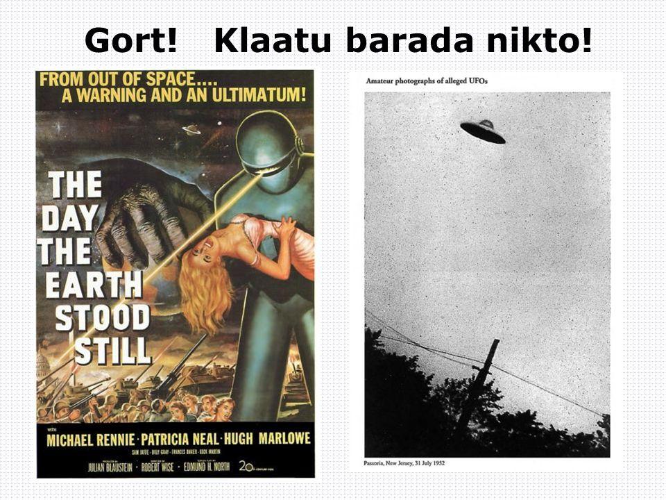 Gort! Klaatu barada nikto!
