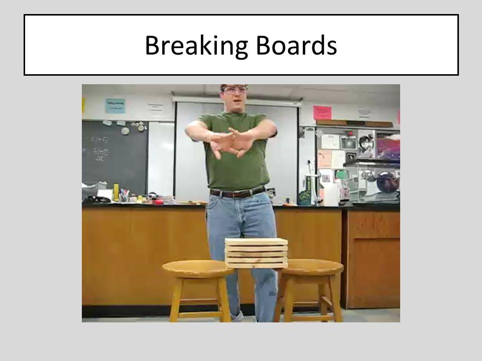 Breaking Boards