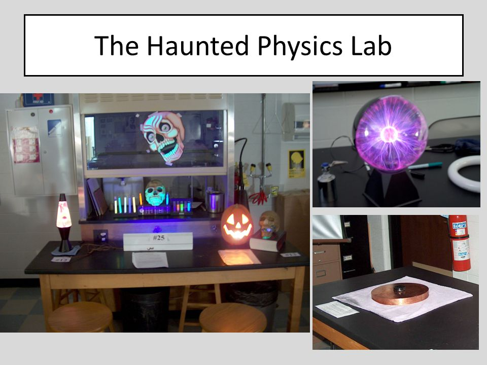 The Haunted Physics Lab