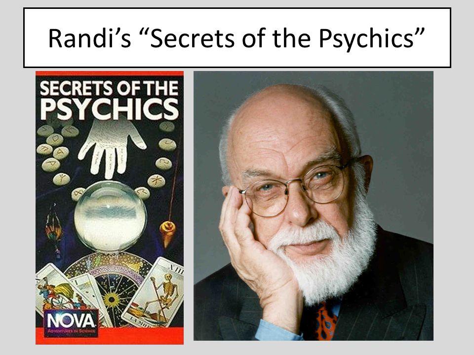 Randi's Secrets of the Psychics