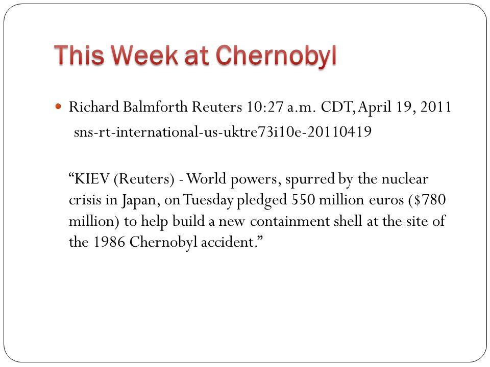 "Richard Balmforth Reuters 10:27 a.m. CDT, April 19, 2011 sns-rt-international-us-uktre73i10e-20110419 ""KIEV (Reuters) - World powers, spurred by the n"