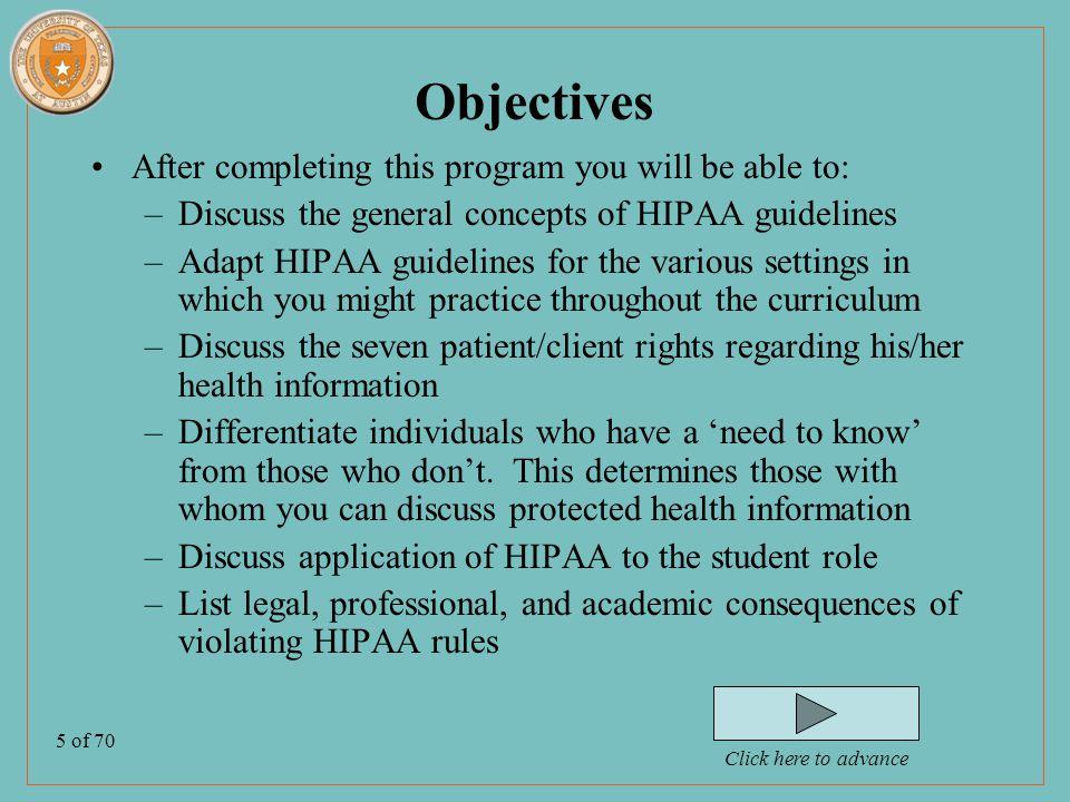 6 of 70 Why HIPAA?.