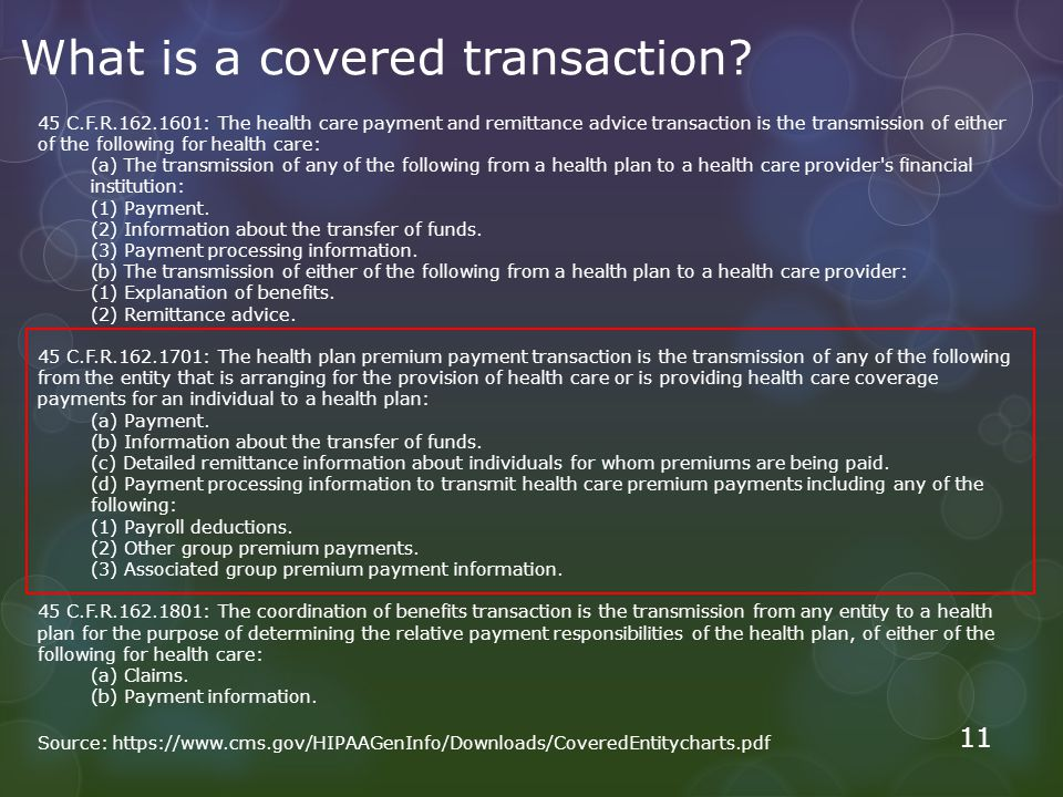 What is a covered transaction.