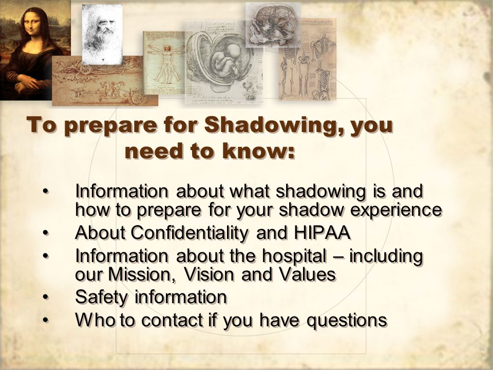 About Confidentiality and HIPAA