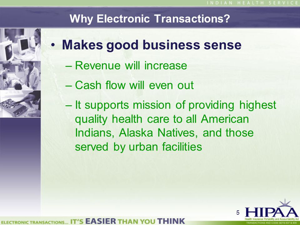 6 Why Electronic Transactions.