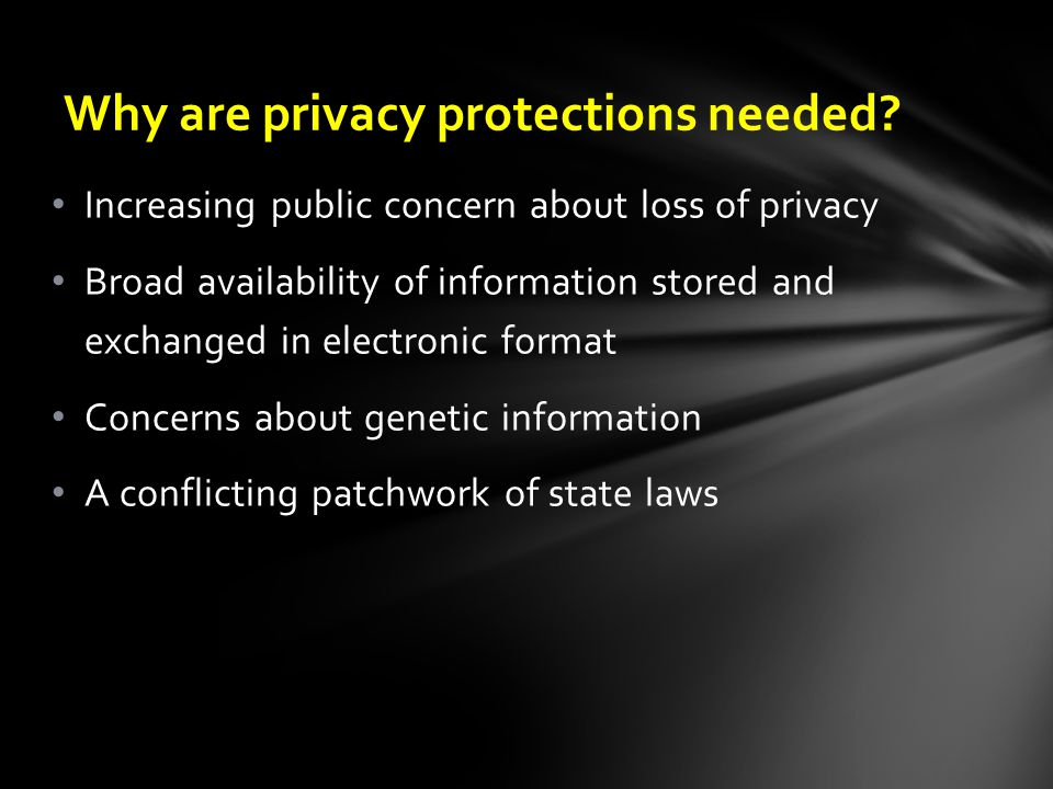 Exchanging Health Information in the 21 st Century Source: Health Privacy Project