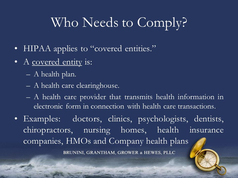What does HIPAA Protect.