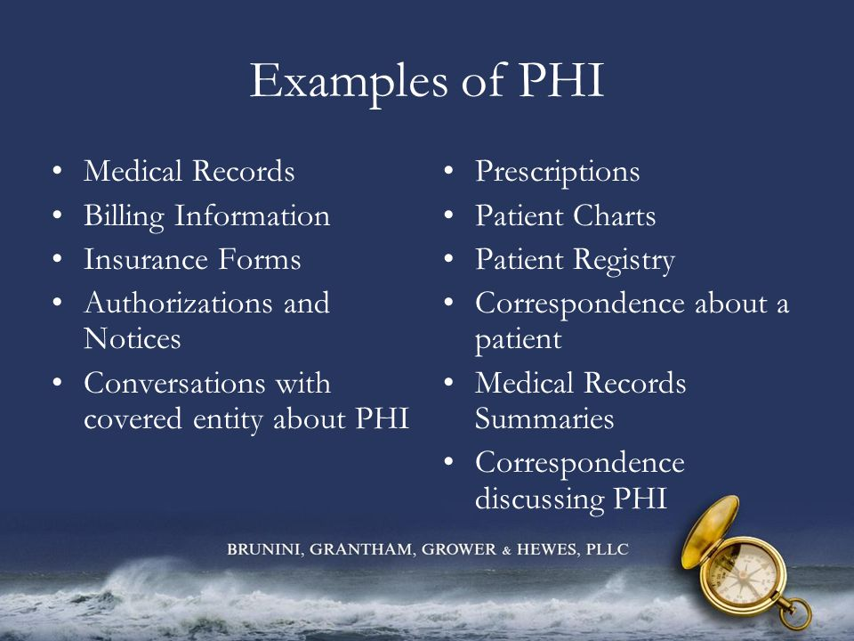 General Rules for Disclosure The privacy rule governs how a covered entity may disclose PHI to persons outside of the covered entity.
