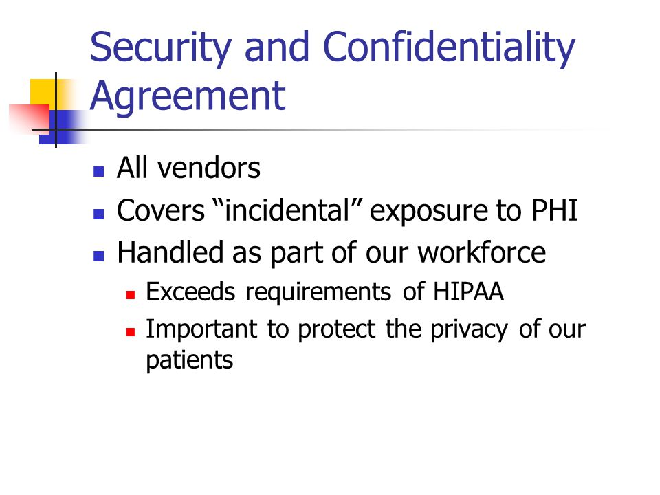 Phi Confidentiality Agreement Image Collections Agreement Letter
