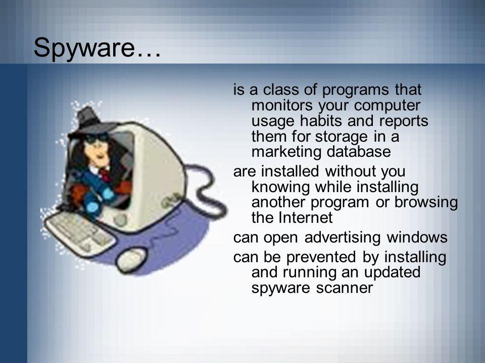 Spyware….