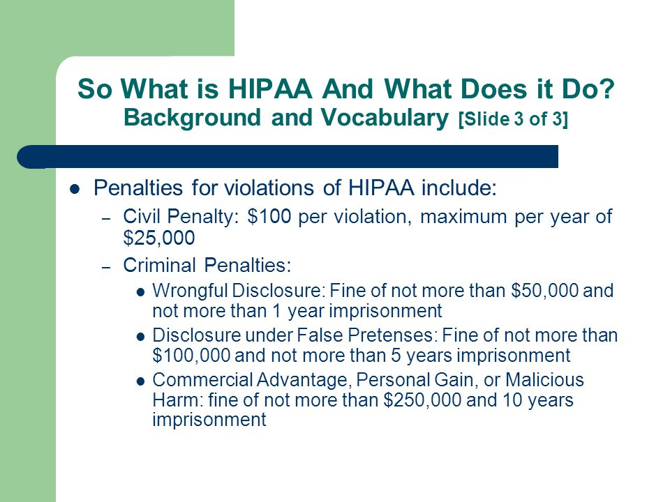 The Privacy Rule's Golden Rule For EMS Providers NEVER HIPAA should NEVER adversely affect the quality of patient care rendered or impede the ability of a health care provider to care for a patient