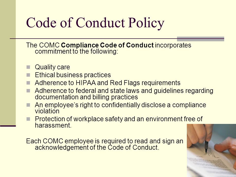 Notice of Privacy Practices Comprehensive Orthopaedics and Musculoskeletal Care 203 265-3280 Health Insurance Portability and Accountability Act of 1996 Notice of Privacy Practices Prepared by Total Compliance Solutions, Inc.