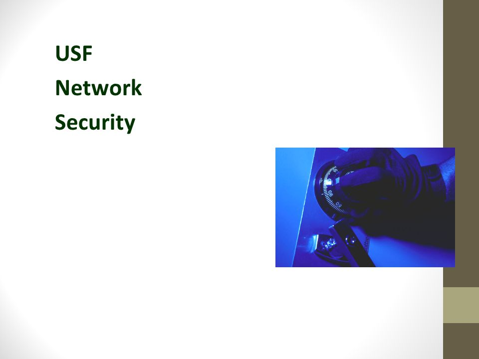 USF Network Security