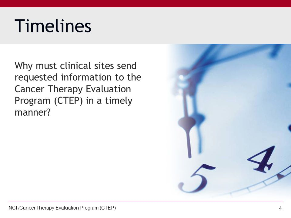 NCI /Cancer Therapy Evaluation Program (CTEP) 15 STEP 3: After receiving the requested information from the medical records department and/or outside facility/provider, you must remove the patient name and identifiers.
