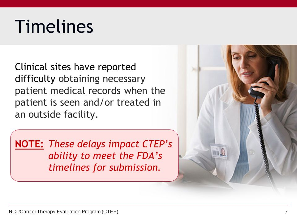 NCI /Cancer Therapy Evaluation Program (CTEP) 18 STEP 4:  After all patient identifiers have been removed, include the patient ID, protocol number, and electronic adverse event ticket number on each page being forwarded to CTEP.