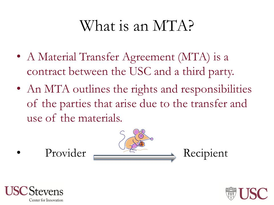 Material transfer agreements and a little about data sharing 3 what is an mta a material transfer agreement platinumwayz