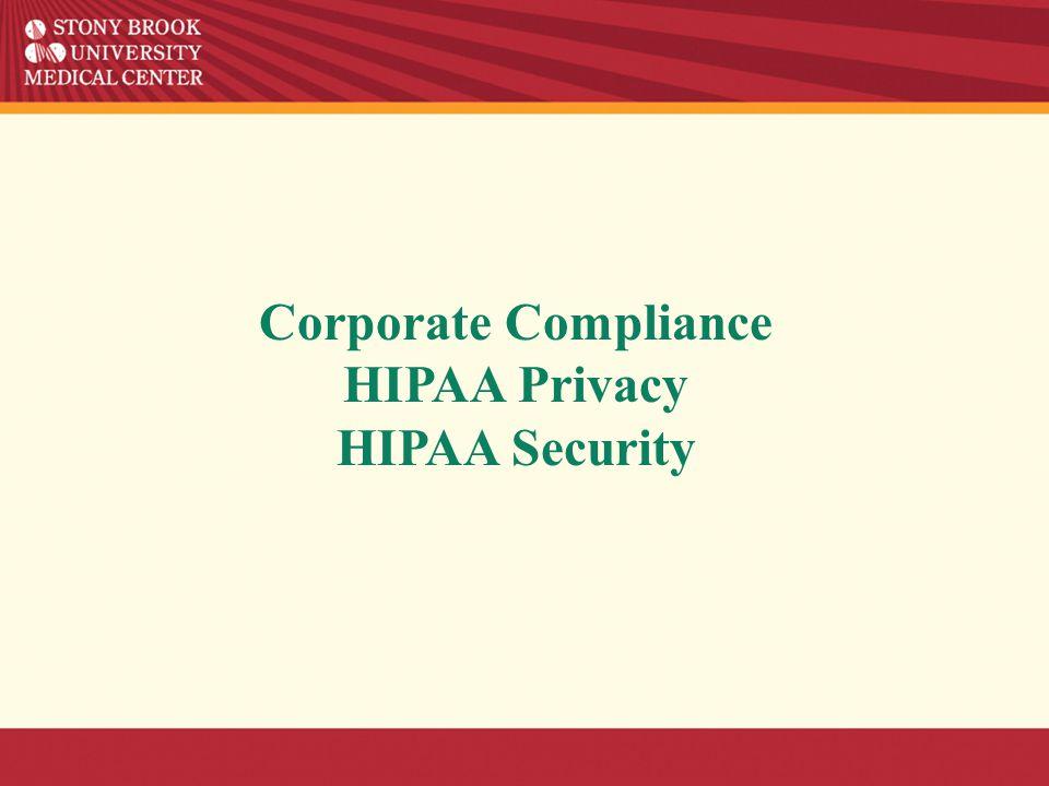 HIPAA & HITECH REGULATIONS Stephanie Musso, SBUH HIPAA Privacy Officer