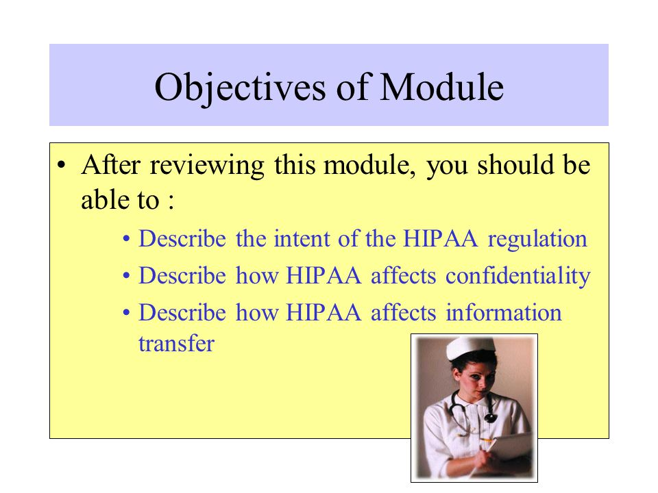 Data Security The third major portion of HIPAA is directly related to confidentiality.
