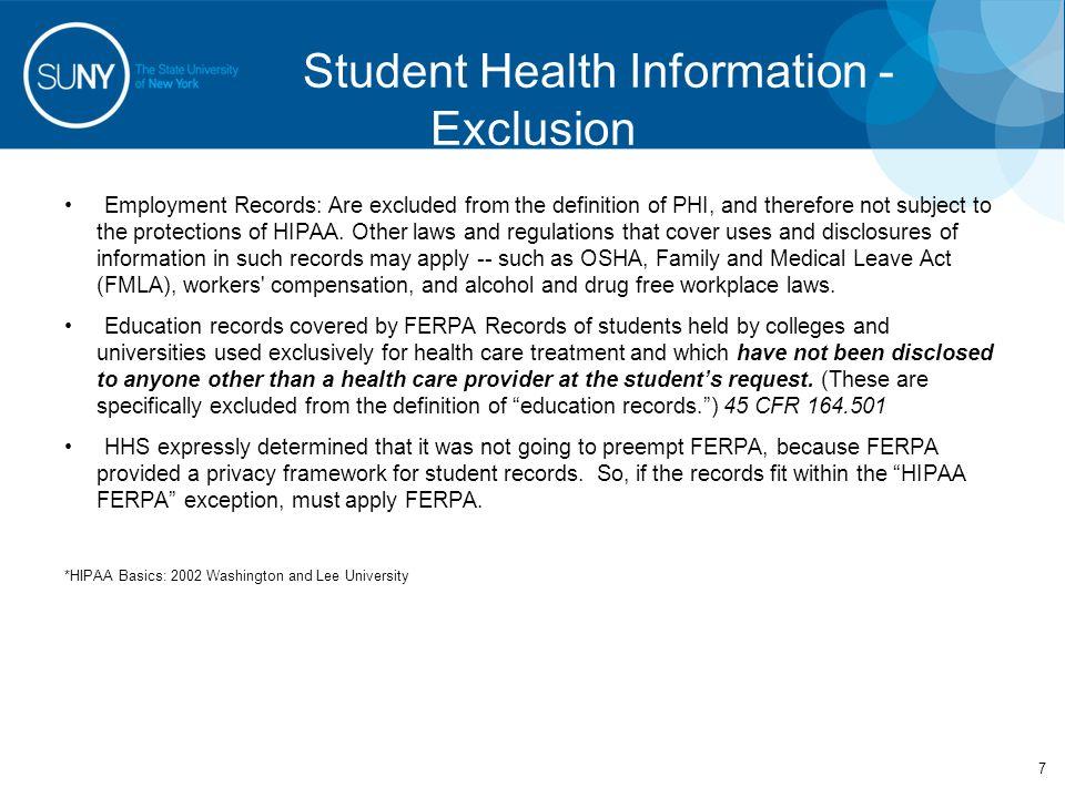 HIPAA Resources 28 Presentation Source Material –U.S.