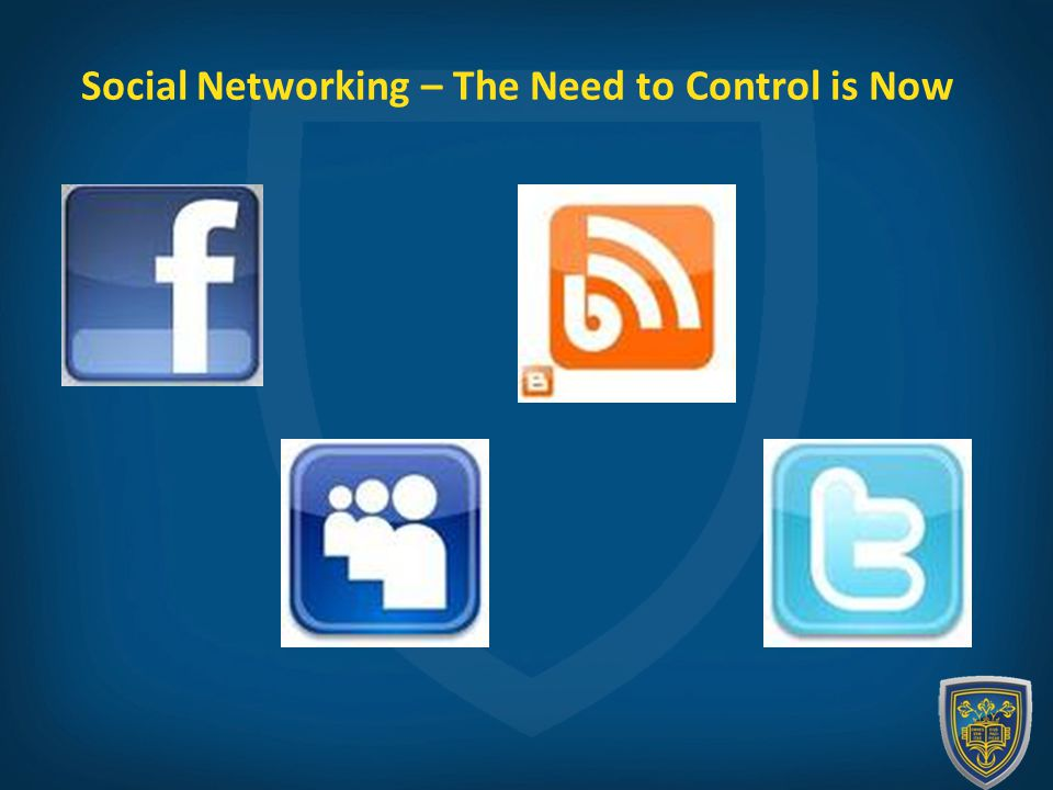 Social Networking – The Need to Control is Now