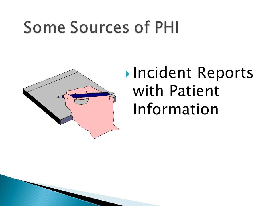  Incident Reports with Patient Information