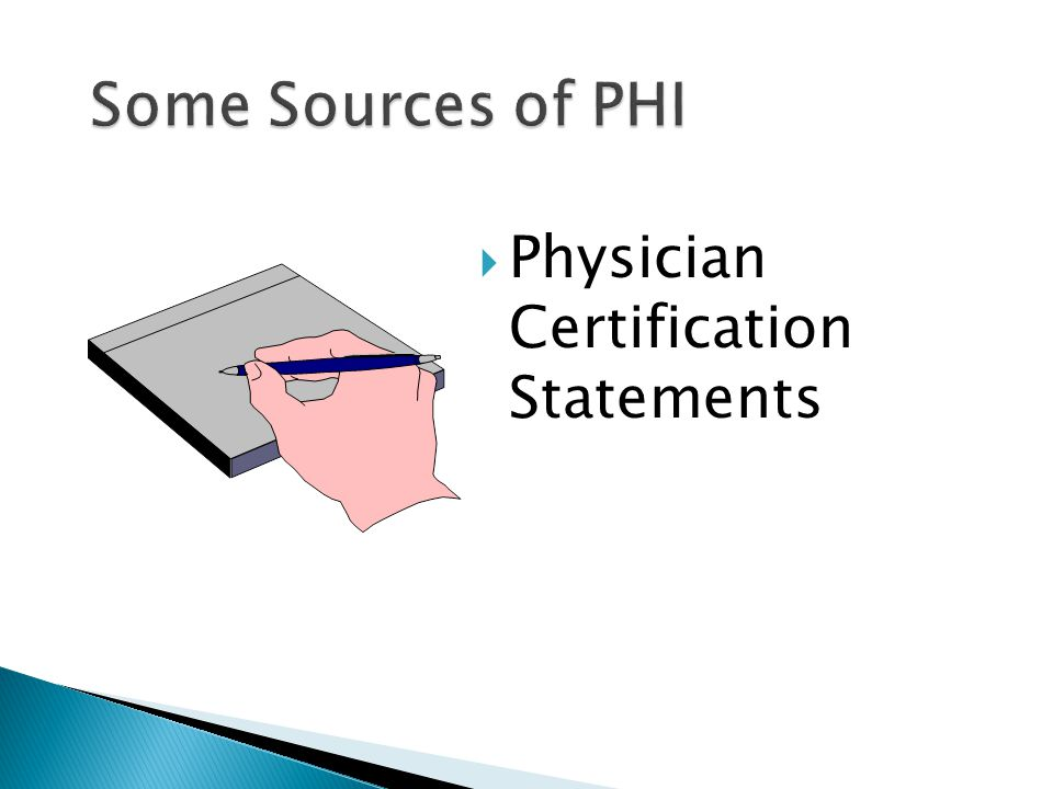  Physician Certification Statements