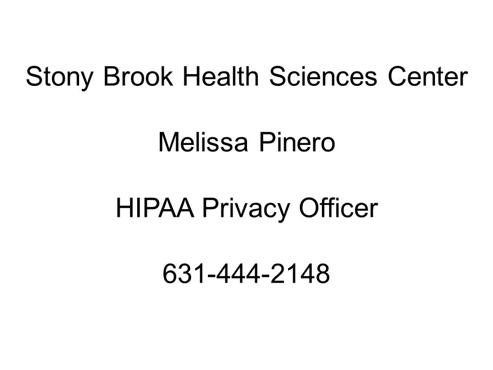 Health Sciences Center Schools New Employee & Student Training FERPA Family Education Rights & Privacy Act HIPAA Health Insurance Portability & Accountability Act