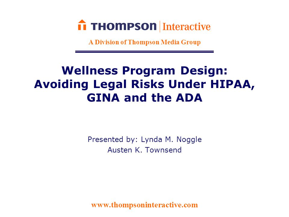 HIPAA: Standard-Based Wellness Programs  Under HIPAA: – Reward must be no more than 20% of cost of coverage; If dependents may participate, reward limit is measured as 20% of the cost of family coverage Do rewards impact a plan's grandfathered status under PPACA.