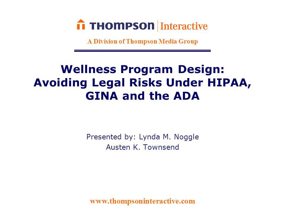ADA Safe Harbor for Bona Fide Wellness Programs  Seff v.