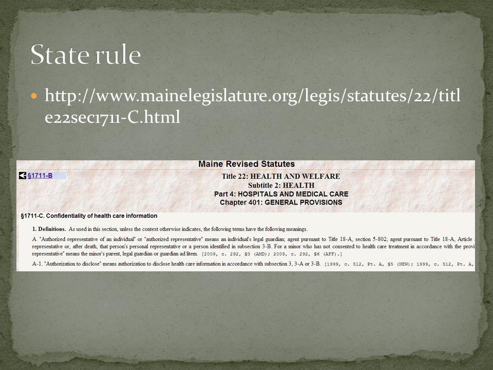 http://www.mainelegislature.org/legis/statutes/22/titl e22sec1711-C.html