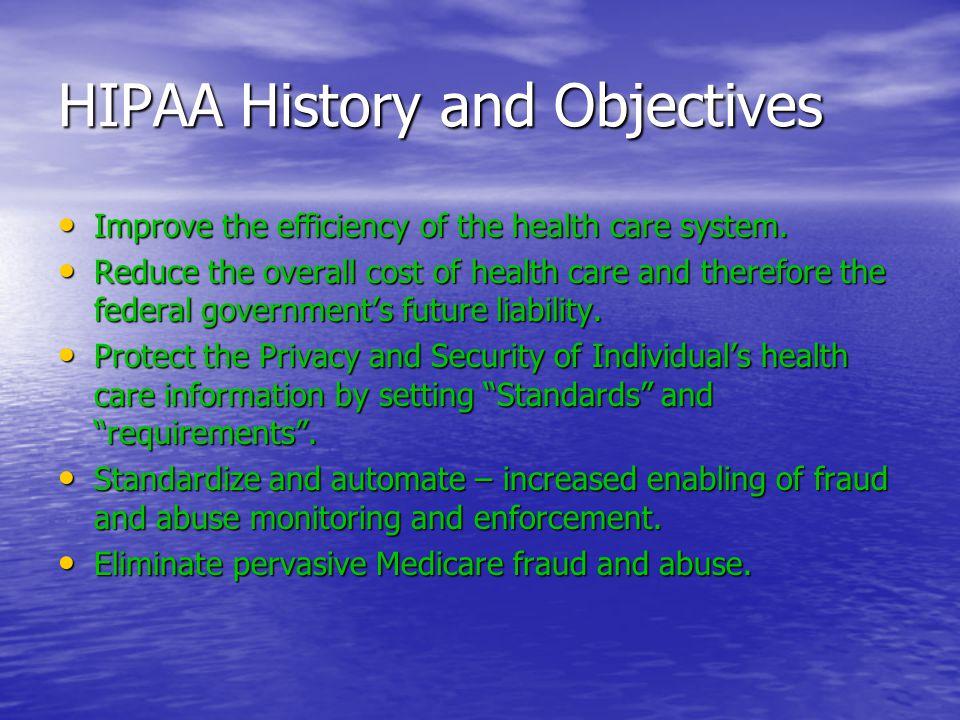 HIPAA Major Rules 1.