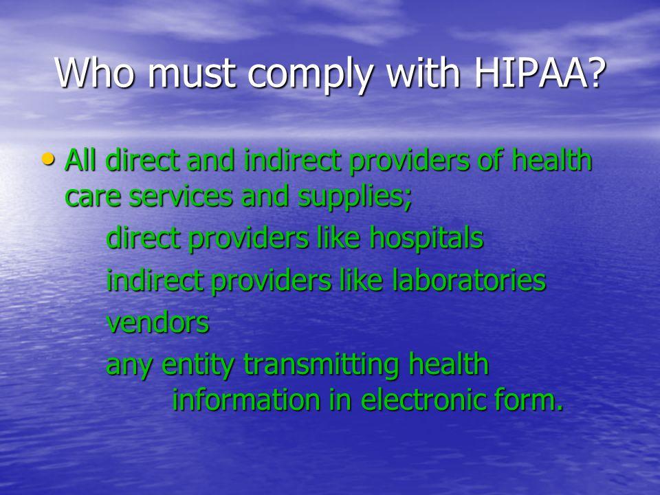 Ten Commandments of HIPAA 6.