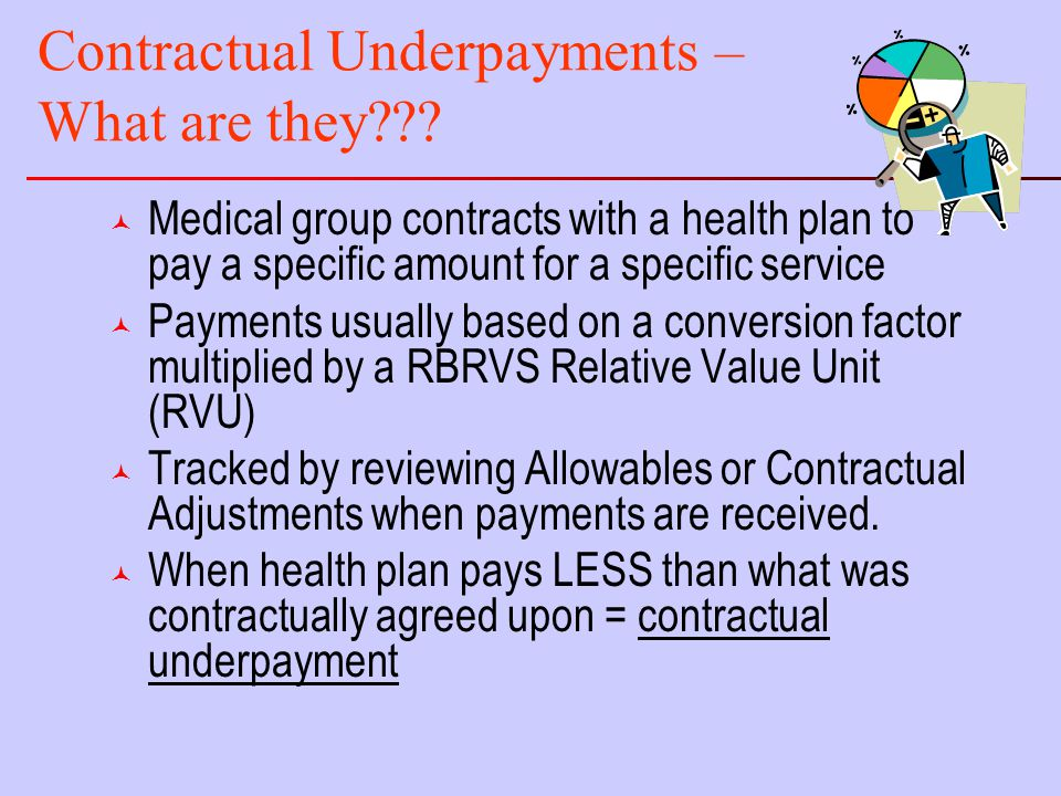 Contractual Underpayments – What are they .
